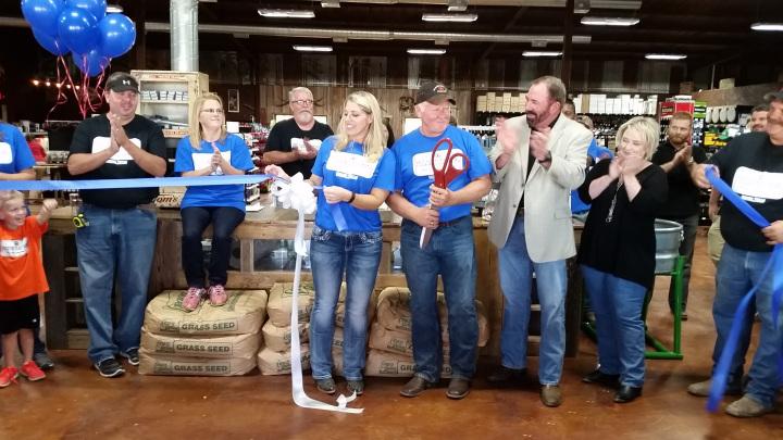 Preston Trail Farms Grand Opening Ribbon Cutting