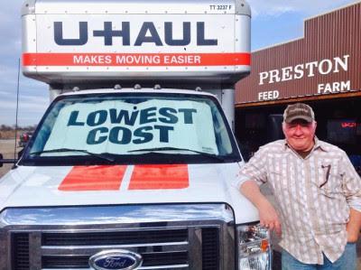 U-Haul Dealer Gunter Texas moving truck rental